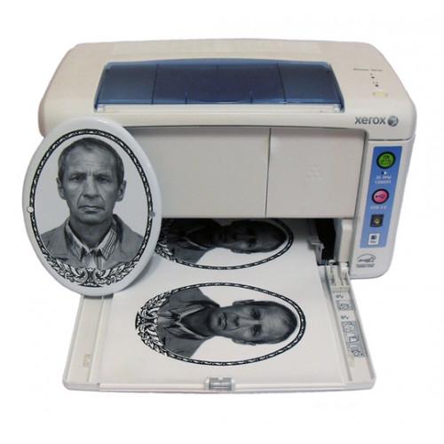 Лазерный керамический принтер Xerox 3010, A4+, черно-белый